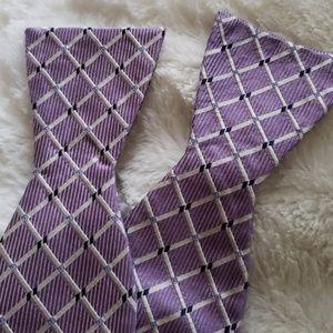 Adjustable Silk Bow Tie